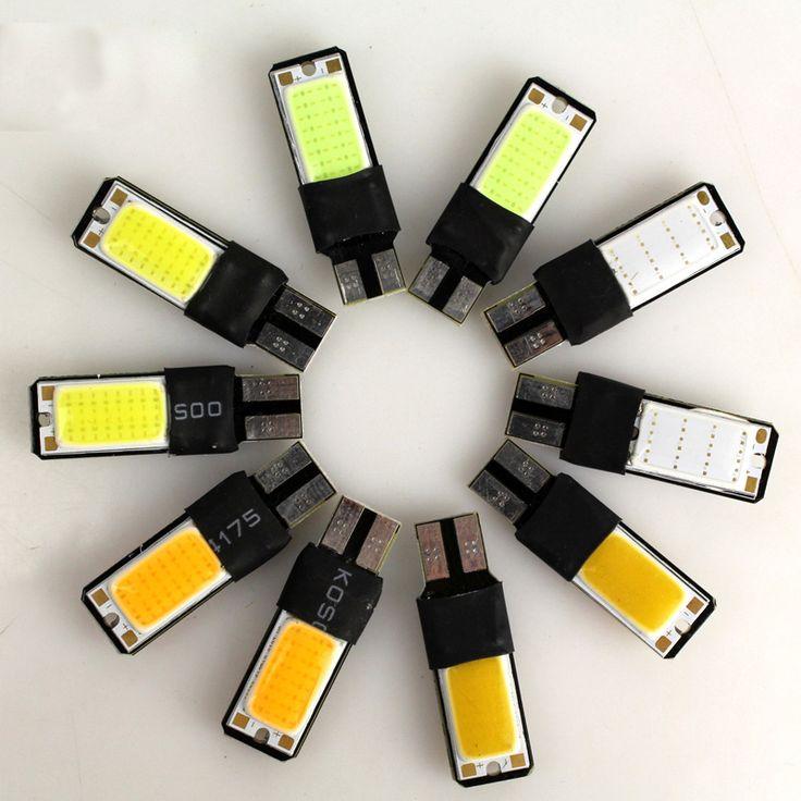 5W COB Free Decoding External Lights Car Modification Ultra-thin LED Clearance Light T10 Power High Brightness Marker Lamp CJ  *** Haciendo click sobre la VISITA botón le llevará a encontrar productos similares