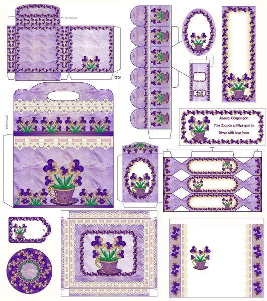 purple printables