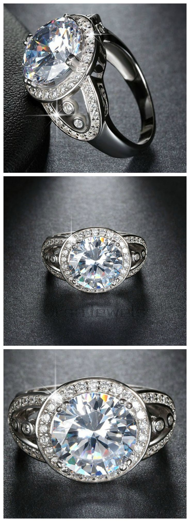 Ziphlets engagement ring. Use code ZIPHLETS10 to get 10% off sitewide