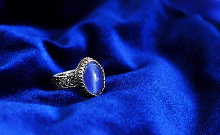 Blue Traditional Silver Filigree www.silverfiligree.tumblr.com