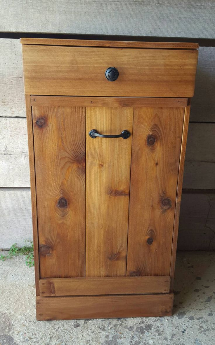 Cabinet for trash can