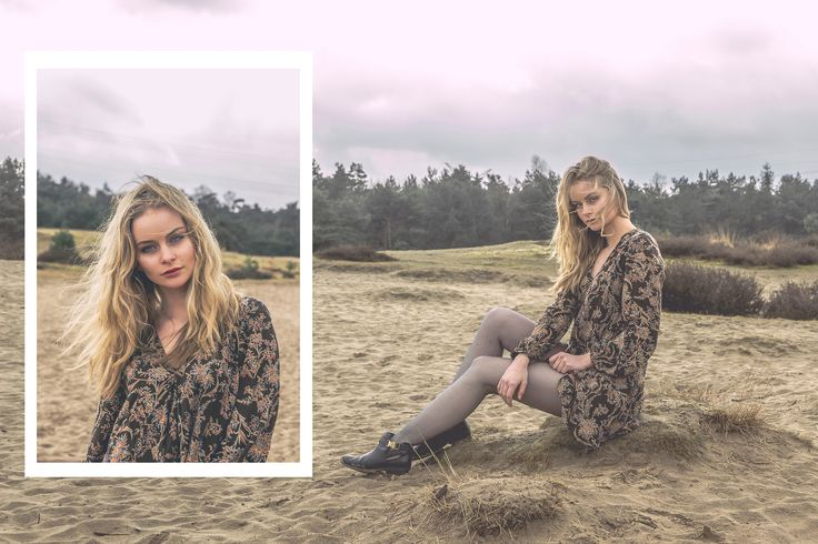 model, outdoor, girl, composition, collage, fashion, blonde, cool, look