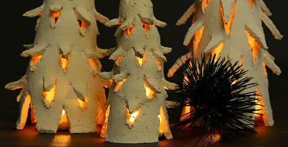 Check out this item in my Etsy shop https://www.etsy.com/listing/575642919/ceramic-christmas-tree-lantern-tealight