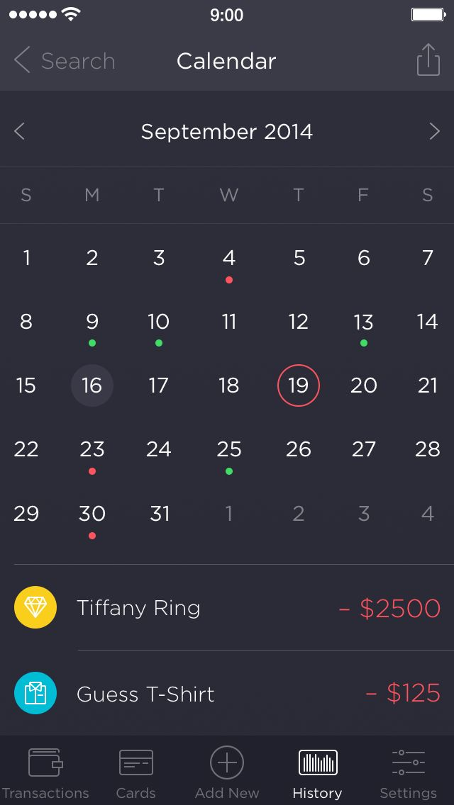 Walle calendar