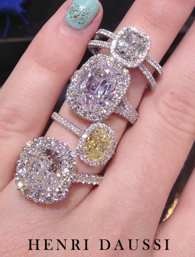 Henri Daussi. My favorite jeweler! So exquisite