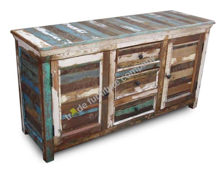 Reclaimed Indian Furniture Sheesham Large Sideboard RF4  eBay