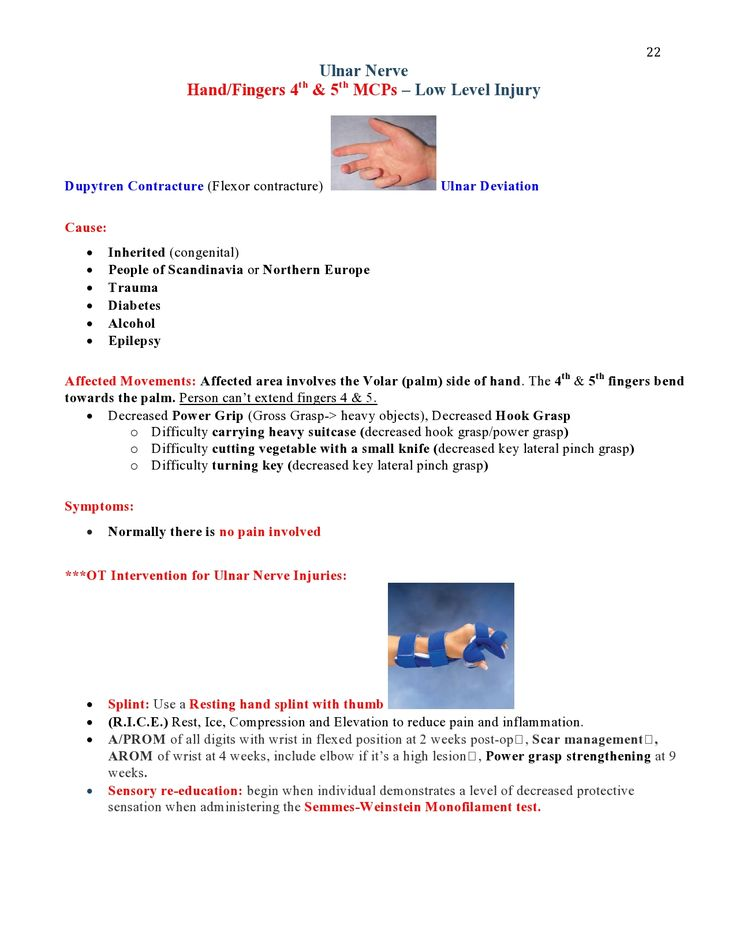 Peripheral Nerve Injuries Study Guide  page 22  https://www.inkling.com/read/skirven-rehabilitation-the-hand-upper-extremity-6th/chapter-45/presentation-of-specific-nerve
