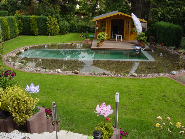 Schwimmteich bei hannover swimming pools natural for Swimming pools bei obi