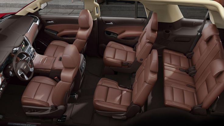 2015 Chevy Tahoe Peanut Butter Interior