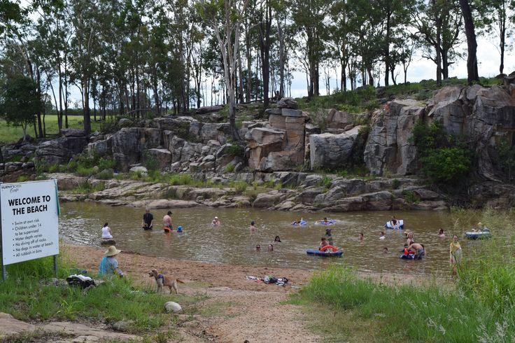 Swimming Murphys Creek Adventures