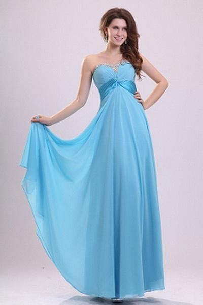 Neckholder Chiffon Blaue Graduierung Kleider kv2454 - Silhouette: A-Line; Stoff: Chiffon, Verzierungen: Perlen, Kristall, Drapiert,, Länge: Bodenlang - Price: 157.7200 - Link: http://www.kleiderverkaufen.de/neckholder-chiffon-blaue-graduierung-kleider-kv2