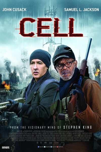 """SINOPSIS: (Cell) Clayton Riddell se encuentra en Boston celebrando el éxito de su última novela gráfica, pero cuando se dispone a regresar a casa con su familia se desata un caos apocalíptico a causa de las señales emitidas por los teléfonos móviles, que están convirtiendo a la gente en monstruos sedientos de sangre. Adaptación de la novela de Stephen King """"Cell""""; en la elaboración del guión intervino el propio King."""
