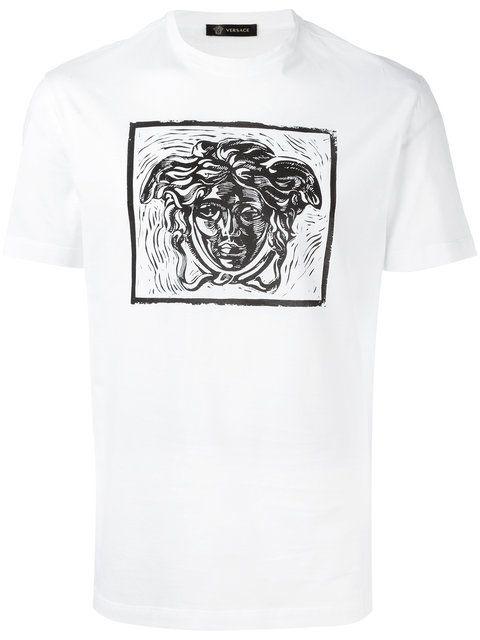 VERSACE Medusa Print T-Shirt. #versace #cloth #t-shirt