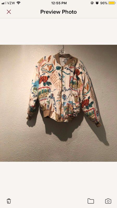 8b6c764b1 Pin by Artonthebaay on Vinted Finds | Padded jacket, Clothes for women,  Printed bomber jacket
