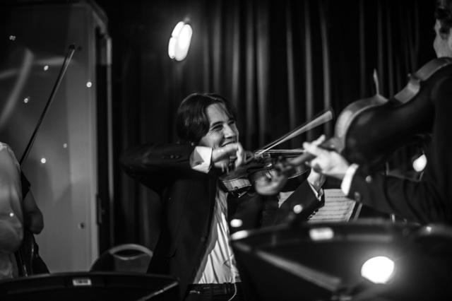 Fuse &  Noa Eyl, viool: Noa Eyl