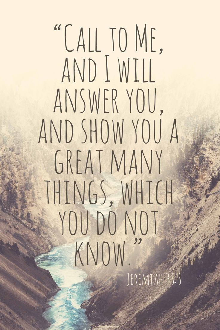 Jeremiah 33:3 http://www.foundedonthebible.com/how-god-sees-you #foundedonthebible #bibleverse #jeremiah #answer #call #god #jesus