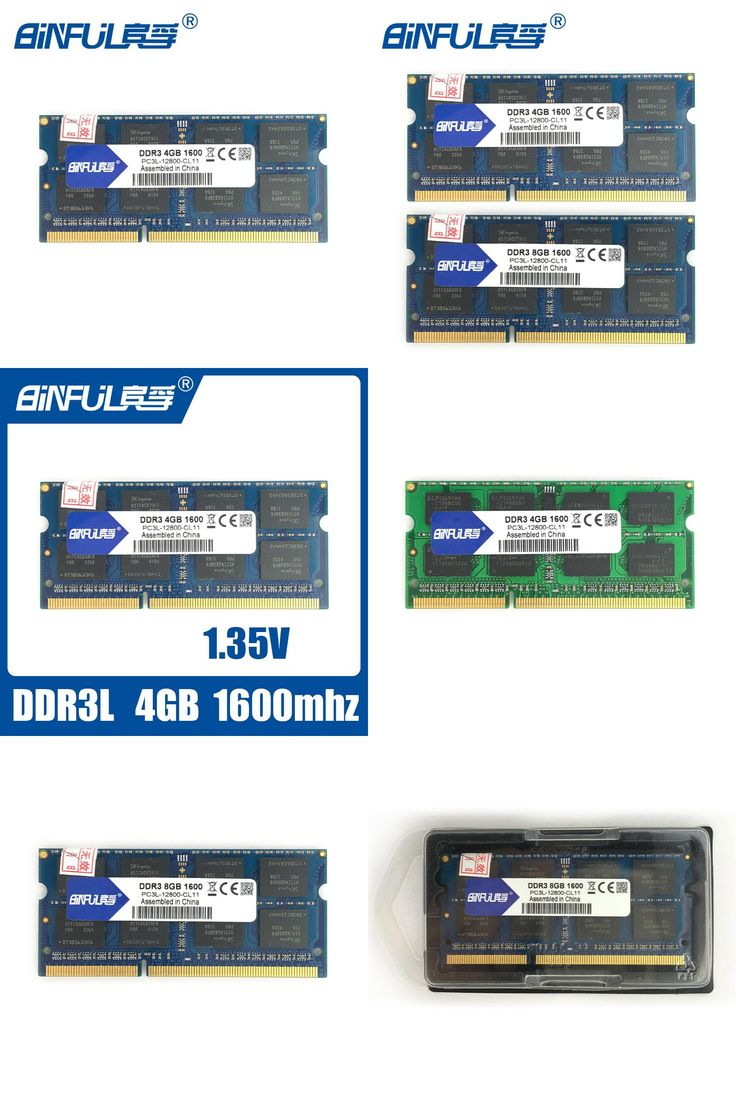 [Visit to Buy] BINFUL  new brand Original DDR3L 12800s 4GB 8GB 1600mhz memoria ram ddr3L  low voltage 1.35v for laptop computer notebook sodimm #Advertisement