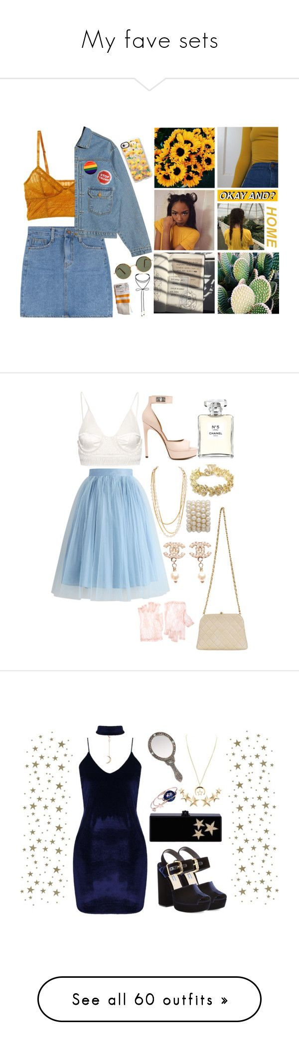 """""""My fave sets"""" by queen-of-disasterxxi ❤ liked on Polyvore featuring Intimately Free People, GET LOST, Trump Home, Miss Selfridge, Casetify, Chicwish, Balenciaga, Chanel, Givenchy and ASOS"""