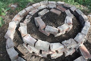 youtube how to make a herb spiral