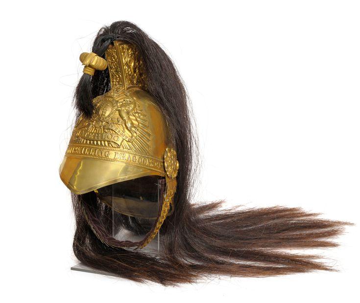 A Victorian 1843 Pattern Brass Trooper's Helmet -Inneskilling dragoons