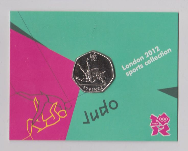 Judo - rare 50p olympic #london 2012 #fifty pence uncirculated coin in #folder,  View more on the LINK: 	http://www.zeppy.io/product/gb/2/322393123544/
