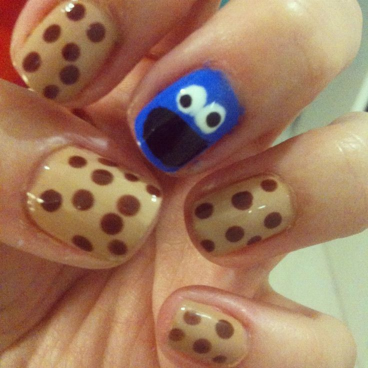 cokie monster nails
