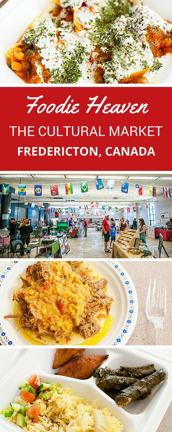 The Cultural Market in Fredericton, New Brunswick, Canada connects people through world cuisine. Join us as we eat our way around the world.