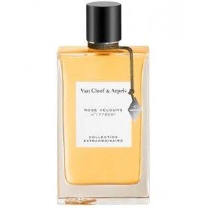 Van Cleef & Arpels - ROSE VELOURS Vanilje med utallige facetter og intens vanedannende.  Blid og varm, omsluttet af træ, blomsterrige og frugtagtige noter omsluttet af fængslende musk..  En sensuel, absolut og forførende duft.  Parfumeur -Randa Hammami