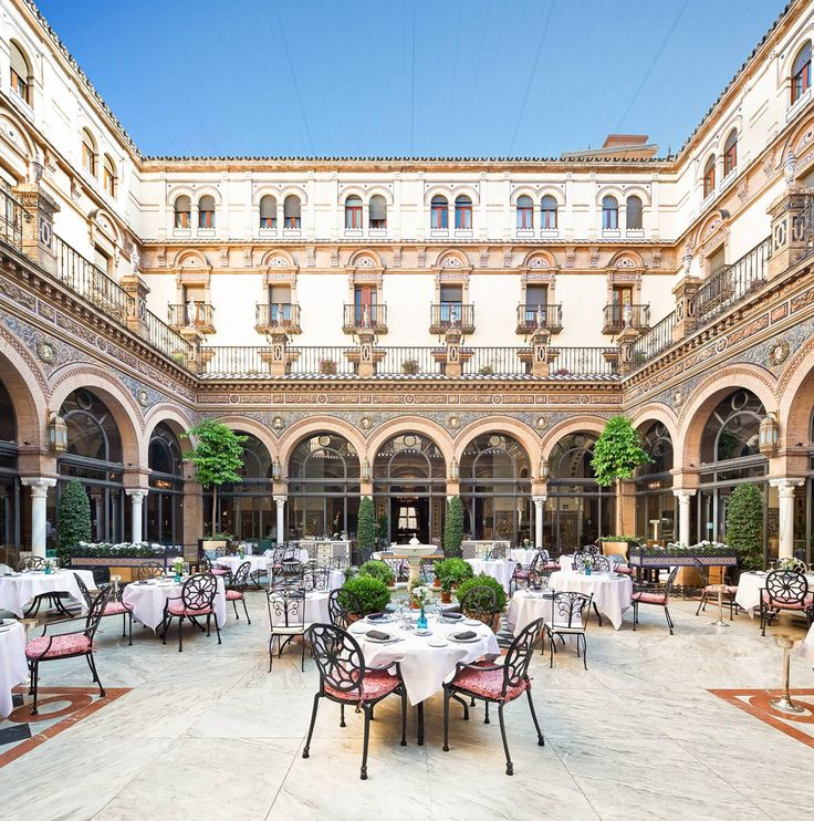 Restaurant at Hotel Alfonso XIII