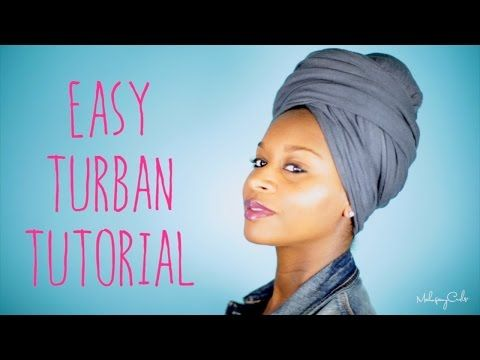 A 5 Minute Turban Tutorial For Those Days When We Want To Cover Our Hair