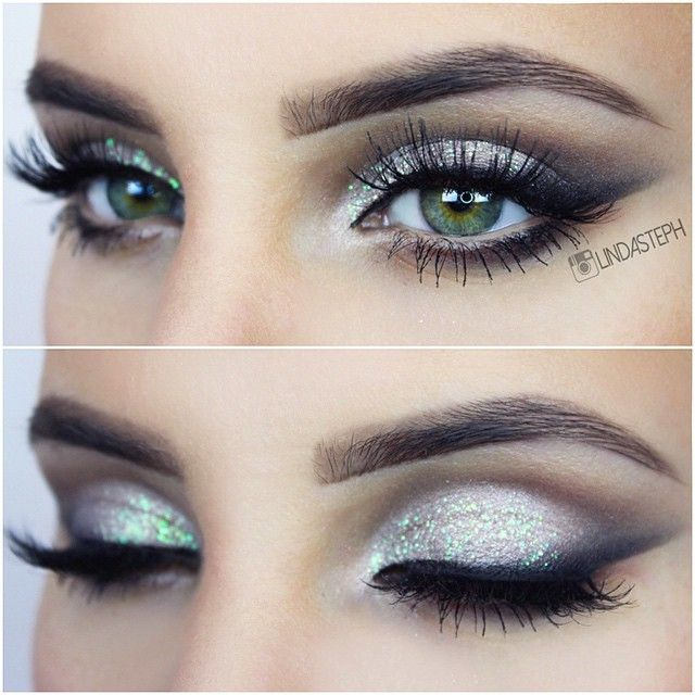 Eyes of the day  wearing @flutterlashesinc Alyssa, glitter from @eyekandycosmetics, b... | Use Instagram online! Websta is the Best Instagram Web Viewer!