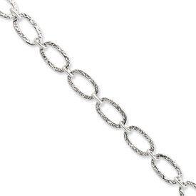 Sterling Silver Fancy Bracelet - 7.5 Inch - Lobster Claw - JewelryWeb JewelryWeb. $51.50. Save 50% Off!