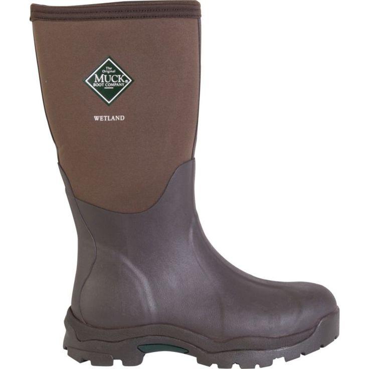 Muck Boot Women's Premium Rubber Boots, Size: 10, Brown