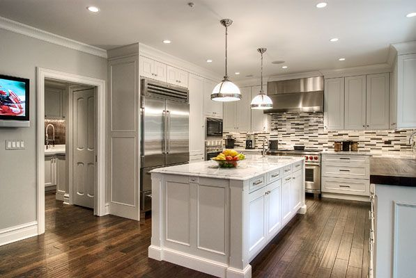 Traditional-Meets-Modern Kitchen | New American Luxury