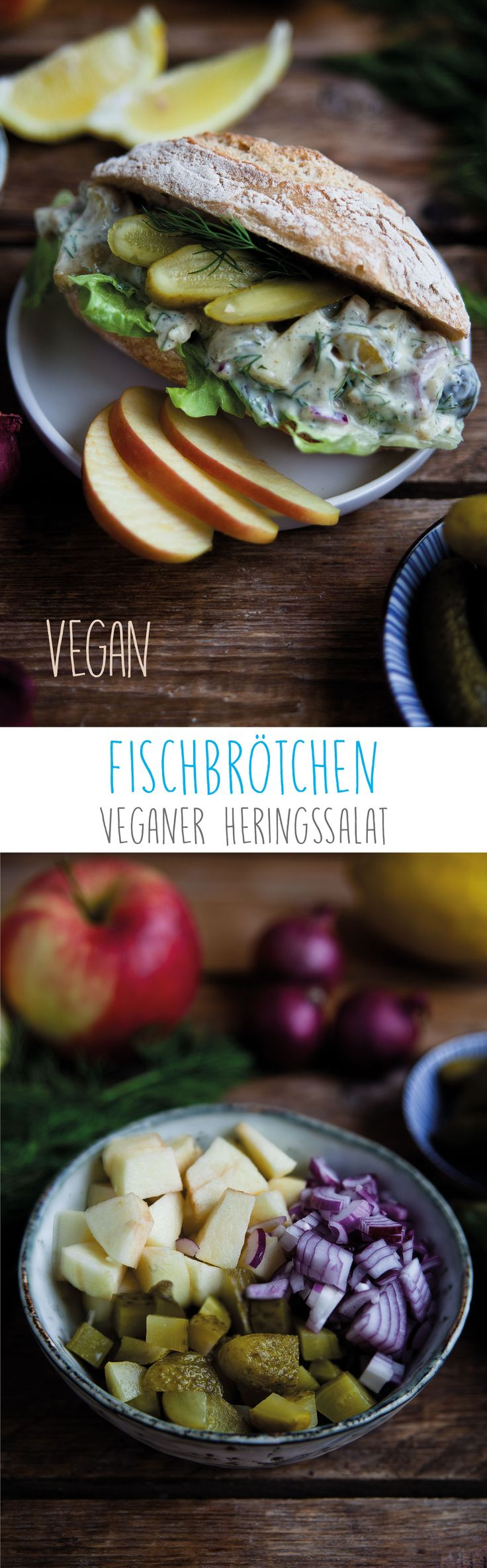 Vegane Fischbrötchen Entdeckt von Vegalife Rocks: www.vegaliferocks.de ✨ I Fleischlos glücklich, fit & Gesund✨ I Follow me for more vegan inspiration @vegaliferocks