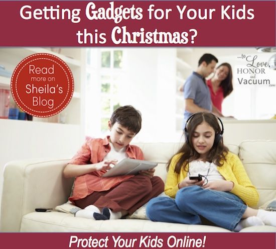 Protect Your Kids Online: If you're buying gadgets this Christmas, don't let those gadgets become traps. Help keep them fun--and safe!