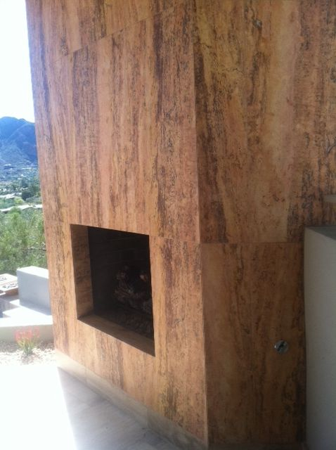 ingenious ivory vein cut travertine. See photos of custom stone fireplaces crafted by artisans from  Authentic Durango Stone for the finest homes 41 best Tile Vein Cut images on Pinterest Bathroom Bathrooms