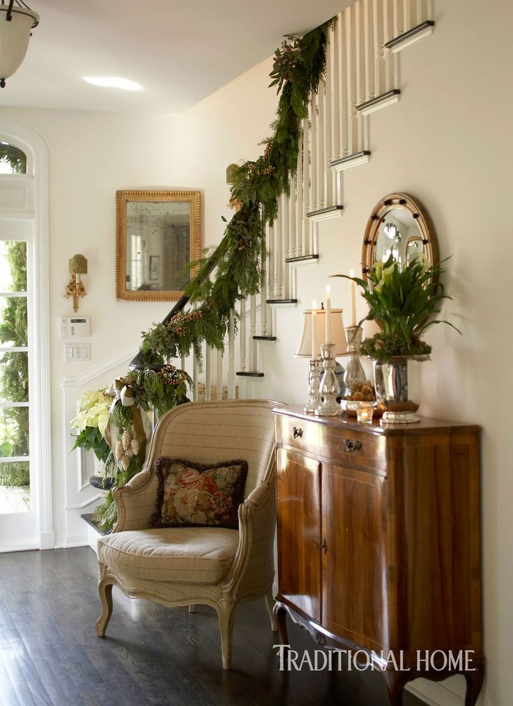 Light-Filled Arizona Home Decked for the Holidays | Traditional Home