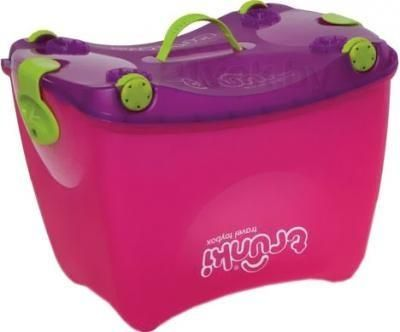 TRUNKI Ящик для игрушек, розовый  — 1925р. --------------------- Уборка в детской комнате станет увлекательной и забавной игрой для Вашего малыша! Теперь Вы сможете взять еще больше игрушек в путешествие, положив их во вместительный яркий бокс.  Ящик для игрушекTrunki- это одновременно коробка для хранения игрушек, качалка, тележка и каталка. Коробка трансформируется в качалку, куда можно посадить игрушки и покачать их. Ящик для игрушек также превращается в тележку, которую можно…