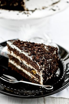 Świąteczny tort makowy z kremem waniliowym i nutą pomarańczy