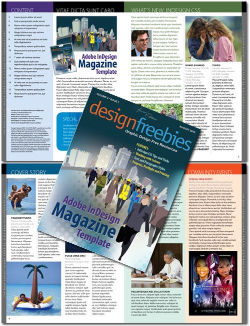 18 best images about free indesign templates on pinterest newsletter templates car shop and for Adobe newsletter templates