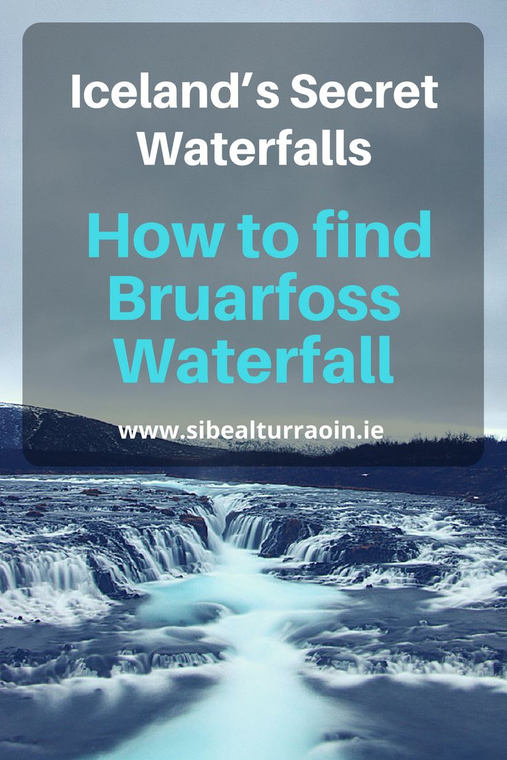 Iceland has many beautiful waterfalls but Bruarfoss Waterfall is one of the prettiest. It's a little hidden but actually not so hard to find – if you know where to look! I discovered th…