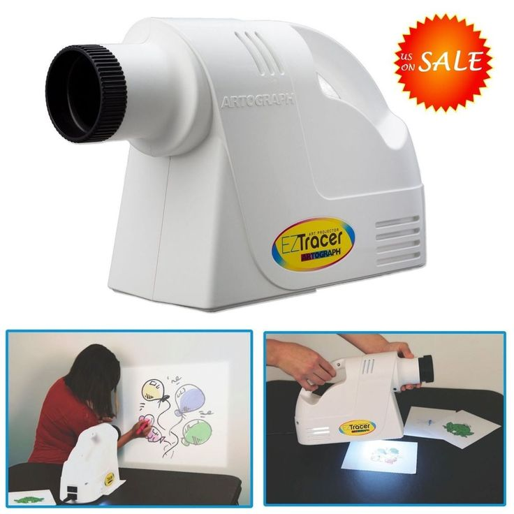 Art Projector Trace And Draw Tracer Enlarger Artograph Drawing Artists Portable #Artograph