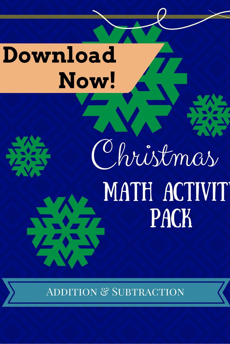 47 best DIY Math Resources for Homeschoolers Teachers and Parents – Christmas Math Games Worksheets