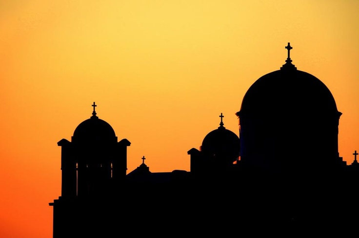 Ios Island #sunset #Greece