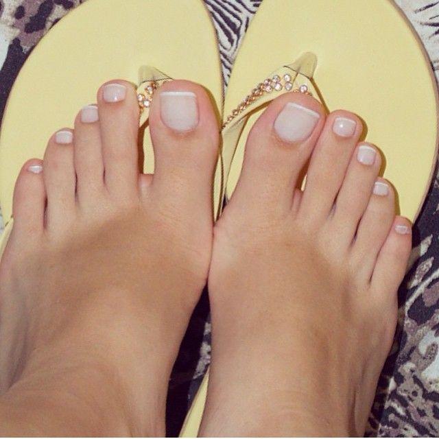 cute female toes
