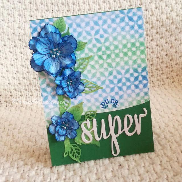 {blogg.mcreative.no}: Hverdagskort og papirblomster.