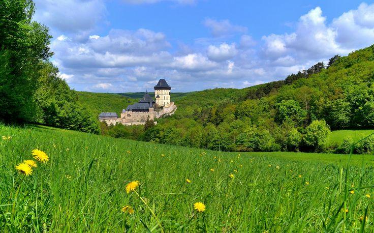 Majestic Karlstejn Castle, Czech Republic