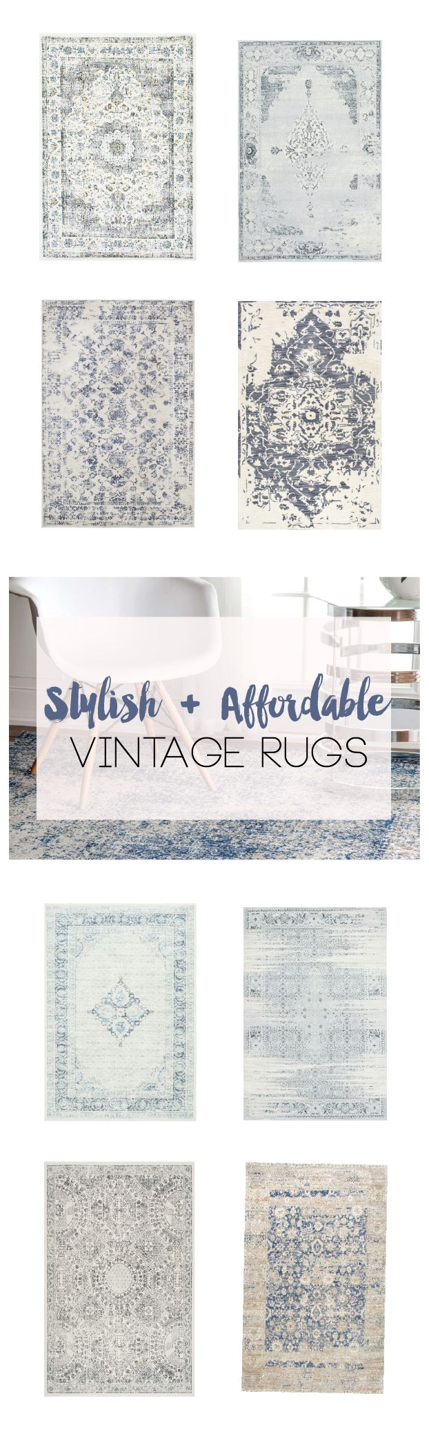 Stylish rugs are easy to find but affordable and stylish is much harder! Here's a list of our top vintage rugs that are Stunning and…