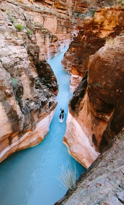 Havasu Creek becomes a blue route. http://win.gs/1ktSNow #rafting  Image: © Forest Woodward